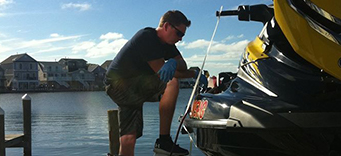 New Jersey Shore Dockside Jet Ski Service
